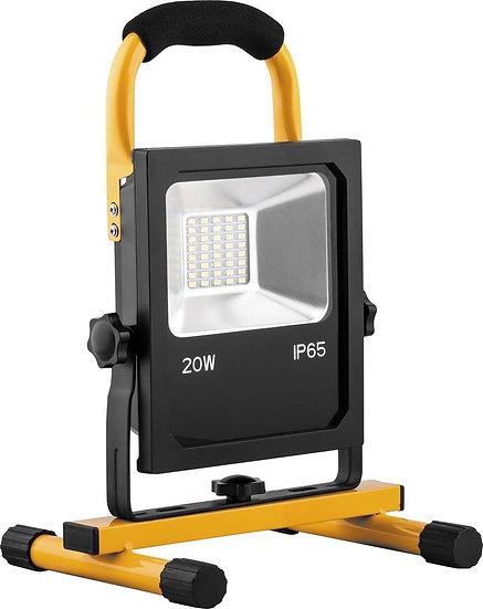 Прожектор светодиодный переносной с зарядным устройством LL-912 20 W / 30 W