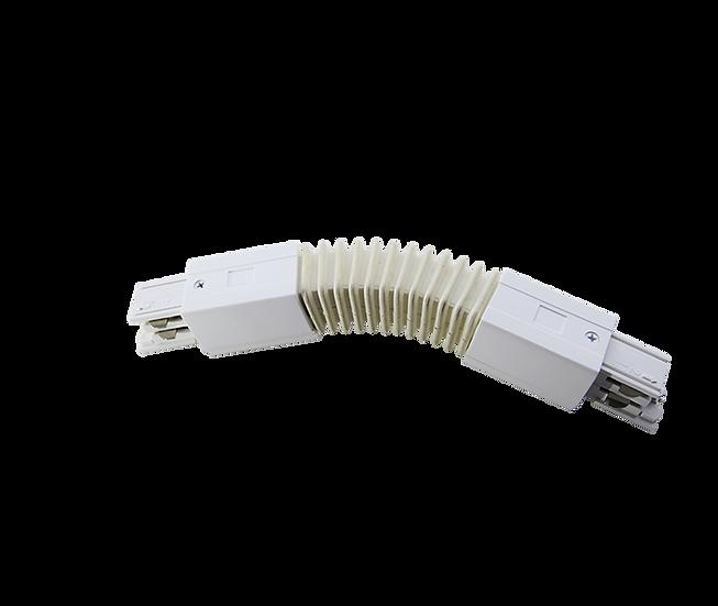 Гибкое соединение для трехфазного трекового шинопровода