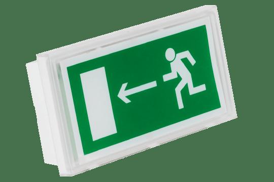 Эвакуационный аккумуляторный светильник Volna IP44 для аварийного освещения