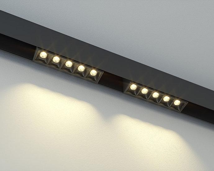 Светильник для магнитного шинопровода Mag.Line.Focus.34 от 10 W до 30 W