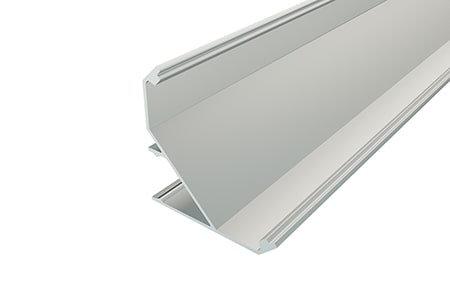Профиль угловой алюминиевый LPU-3838-2 Anod для светодиодной ленты
