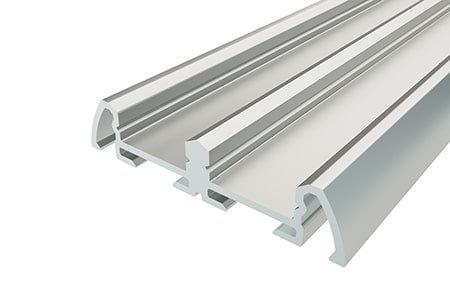Профиль накладной алюминиевый двойной LP-0942-2 Anod для светодиодной ленты