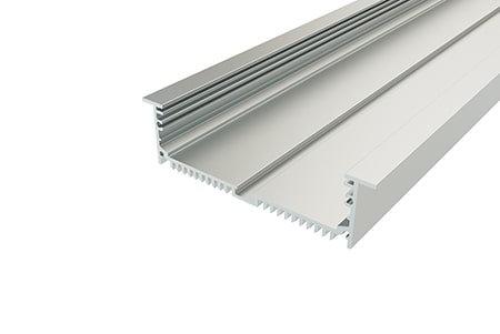 Профиль врезной алюминиевый LPV-32120-2 Anod для светодиодной ленты