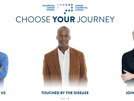 3rd most commonly diagnosed cancer in Canada: Colorectal Cancer