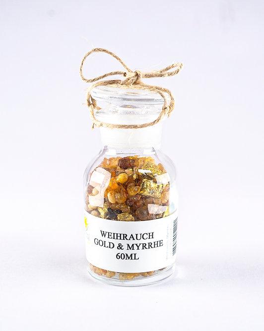 Weihrauch Gold und Myrrhe
