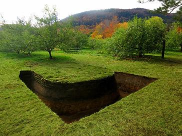 Lisière. Sandra Tannous, art visuel, sculpture, installation, art public, land art