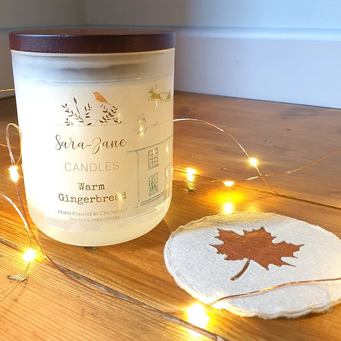 Warm Gingerbread 30cl Candle