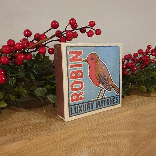 Large box of Seasonal matches