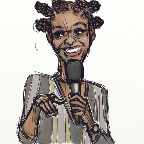 Comedienne Zainab Johnson