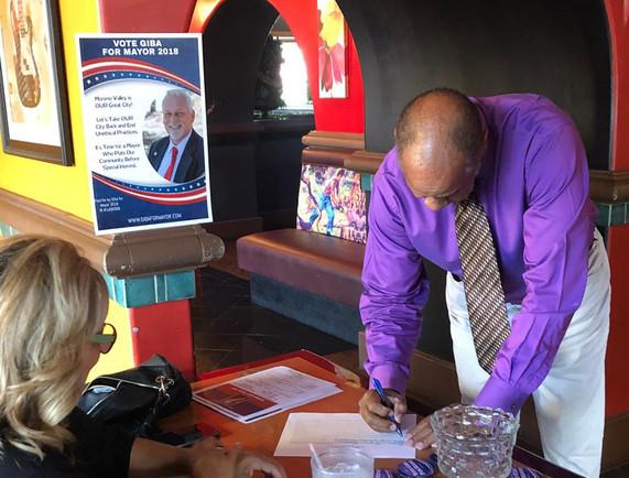 Giba for Mayor Meet & Greet