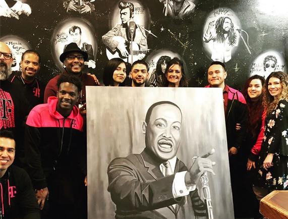 MLK Portrait Unveiling