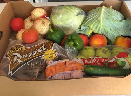 Food-Box Give Away Saturdays