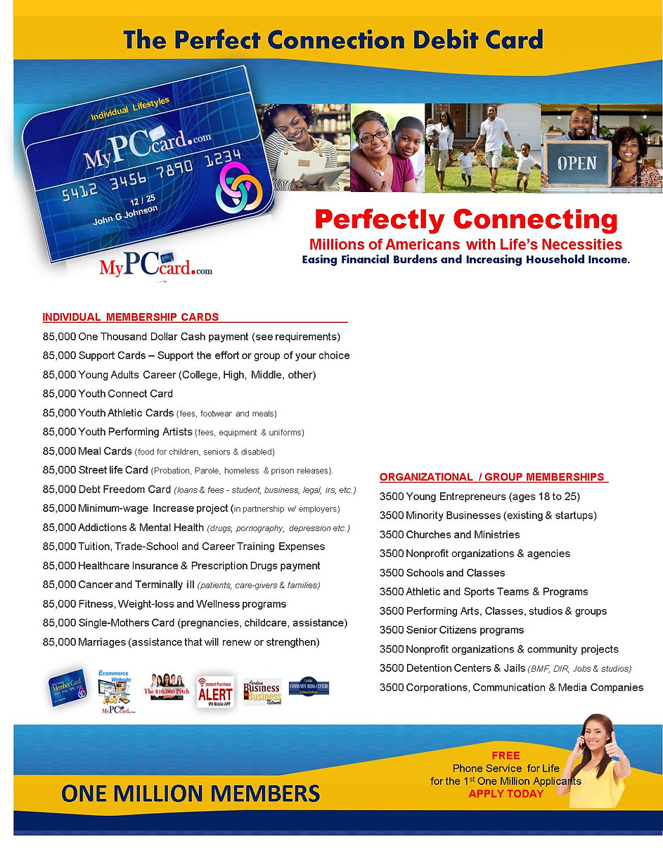 PC Individual Card_Full page with listin