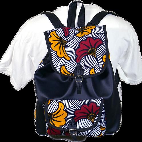 Women Ankara Backpack 1