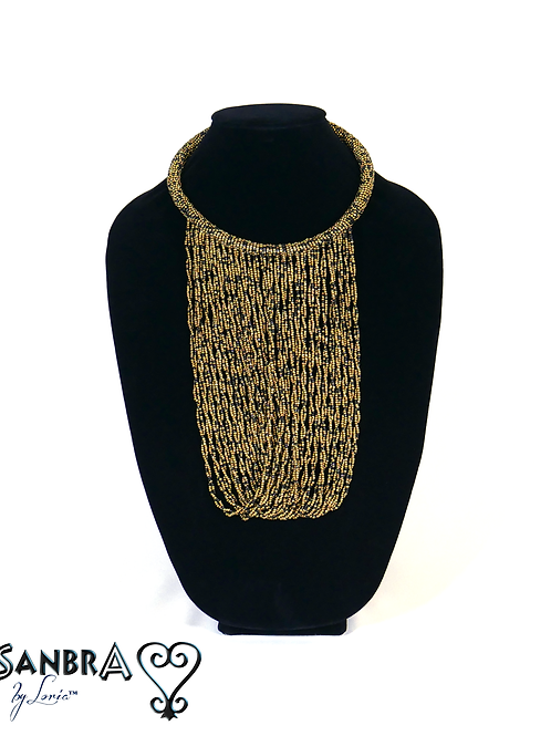 Multi-Color Tribal Necklace