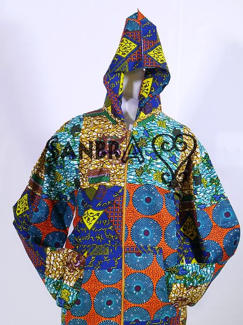 African Ankara Hoodies