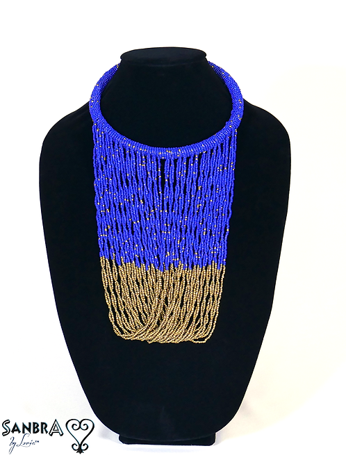 Two Color Tribal Necklace for Women