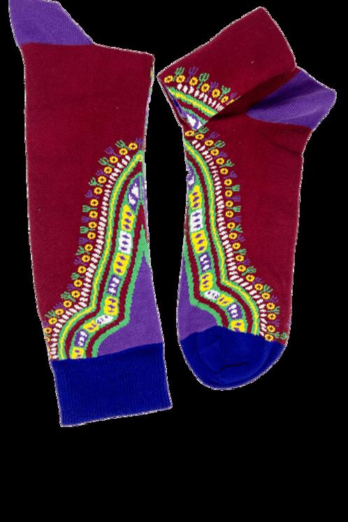 Burkina Kente Socks