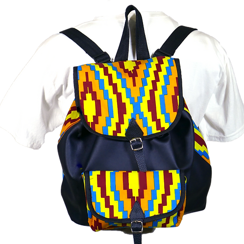 Women Ankara Backpack 2