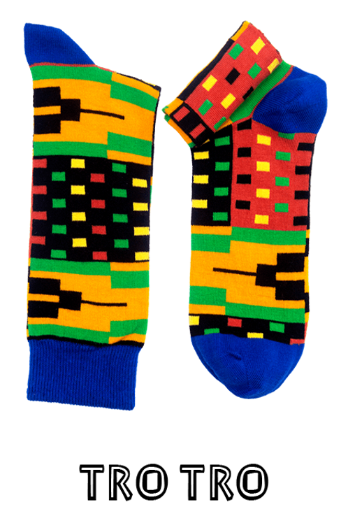 Tro-Tro Kente Socks