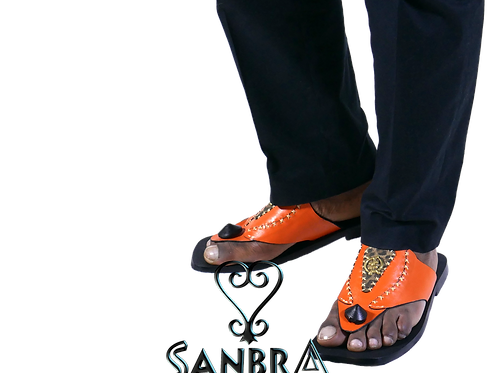 Gye Nyame African Sandals