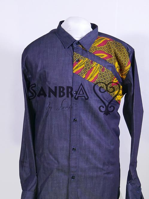 Ankara Jeans Shirt