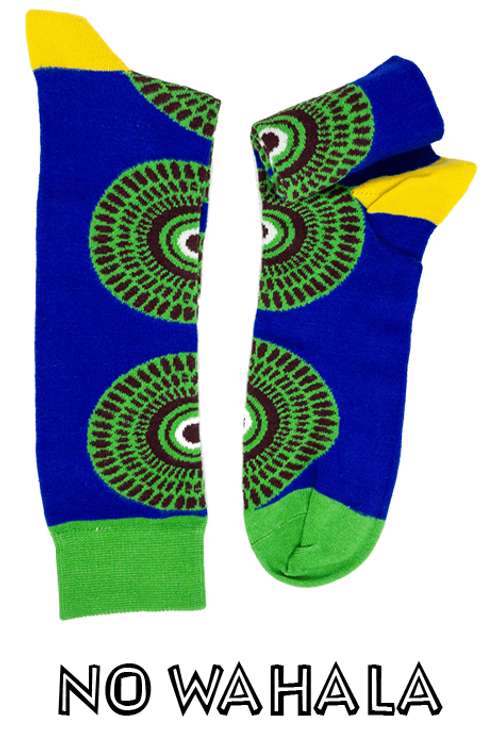 No Wahala Kente Socks