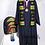 Thumbnail: Black Kente Stole (Class of 2020)