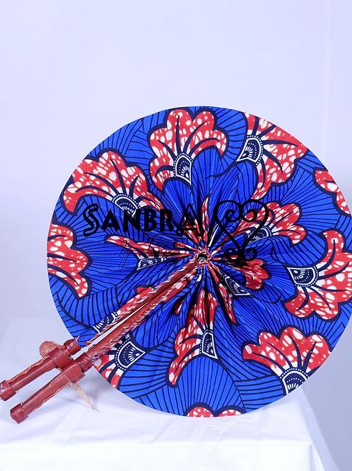 African Genuine Leather Fan