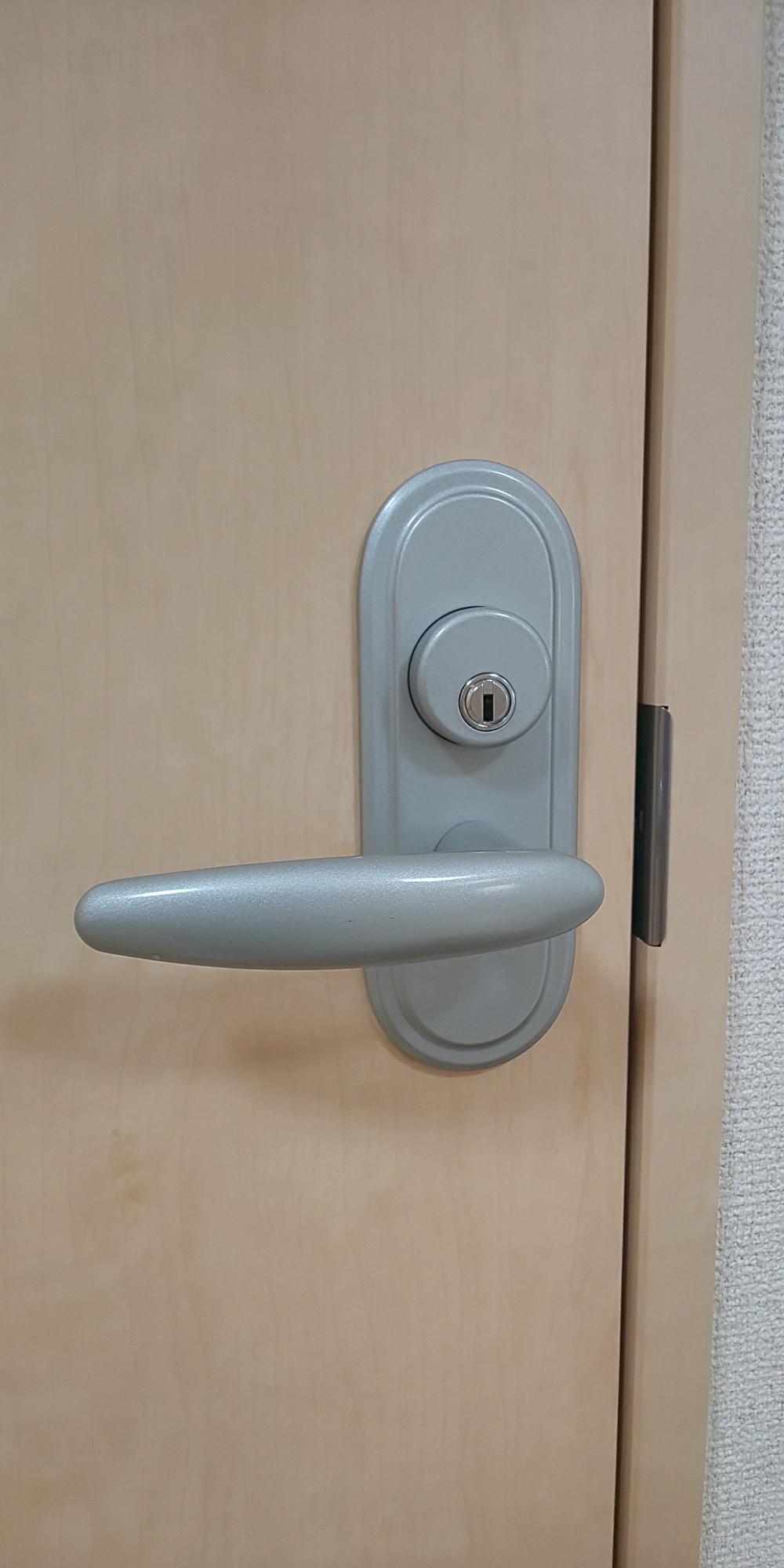 室内ドアの鍵