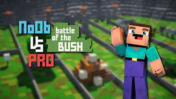 Noob VS Pro - Battle of the Bush