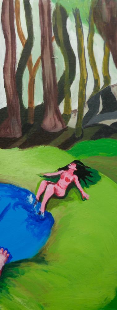 Baignade en forêt