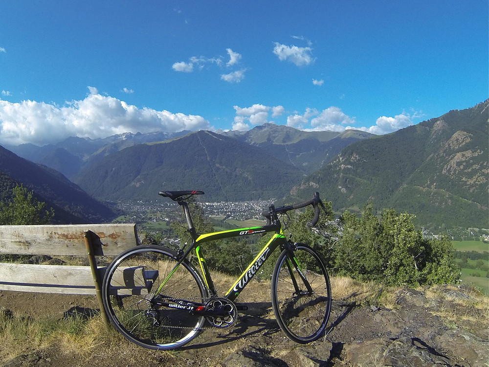 You can also rent a road bike from Pyrenees Bike Hire when you arrive in Luchon