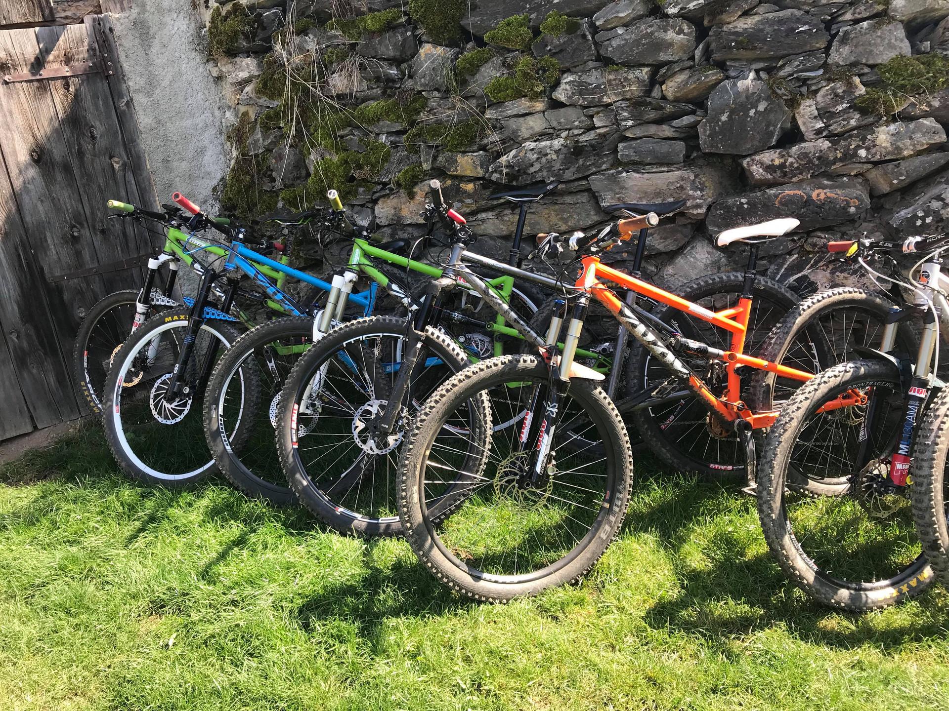 Cotic Full Suspension Bikes