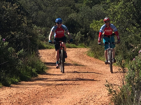 AQR Holidays Mountain Bike weeks in Portugal March 2019