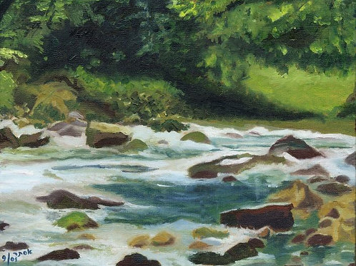 River Painting - River Flow