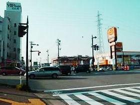 富山市民病院交差点