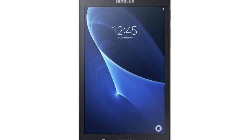 """Samsung Galaxy Tab A 7"""" (T285) LTE & WiFi Tablet - Black"""