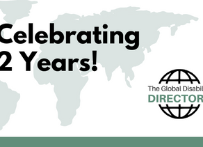 Celebrating 2 Years of our Global Disability Directory!