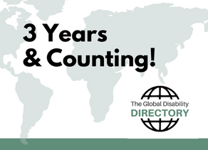 3 Years of our Global Disability Directory program!