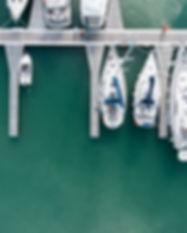 Aerial Photo of a Marina