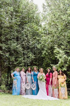 Bridal Party Photos - Durham Wedding