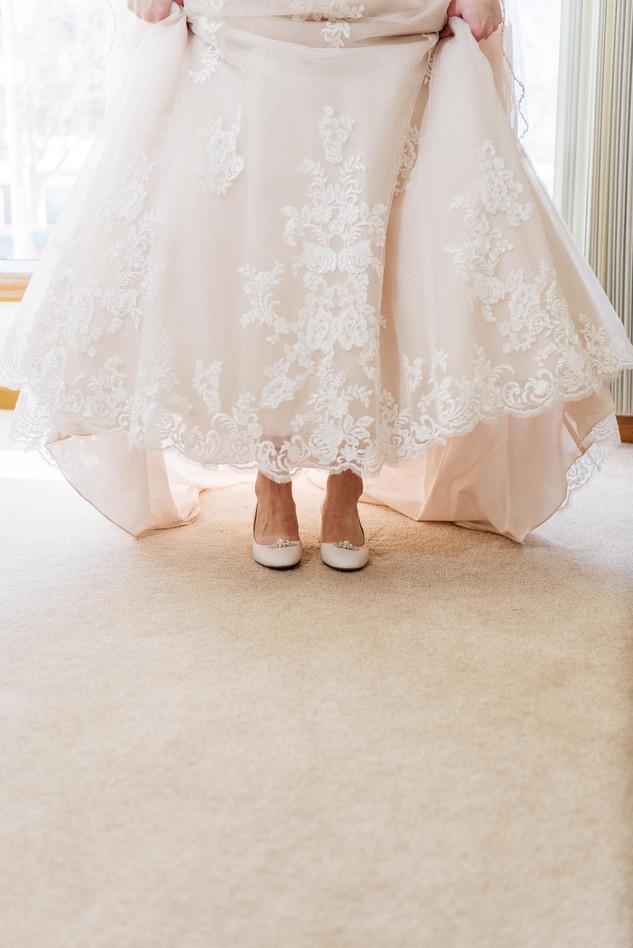 Bride - St Catharine's Wedding