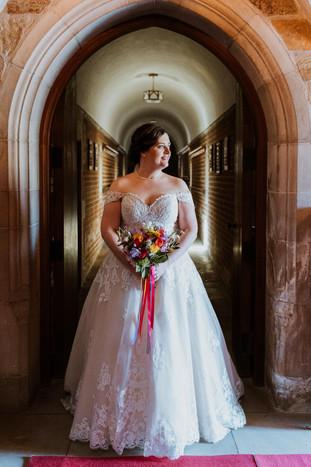 Bride  St Catharine's Wedding