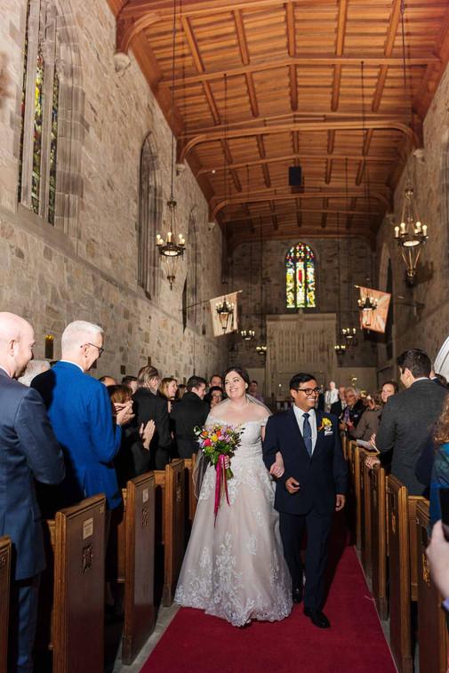 St Catharine's Wedding