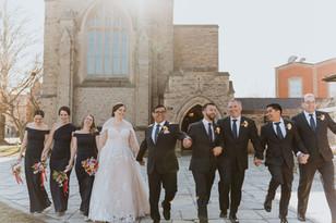 Bridal Party  St Catharine's Wedding