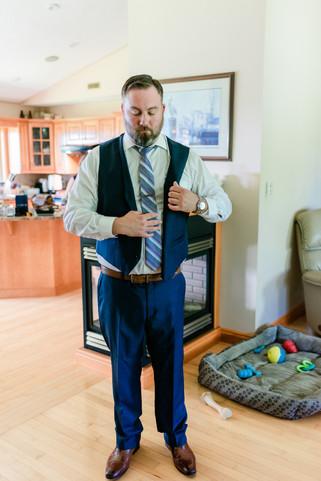 Groom Preparation - Waterford Wedding Photographer