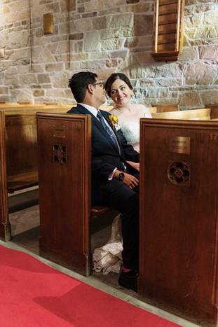 Wedding couple  St Catharine's Wedding