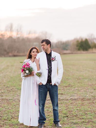 Micro wedding in London, Stonebrook Farm