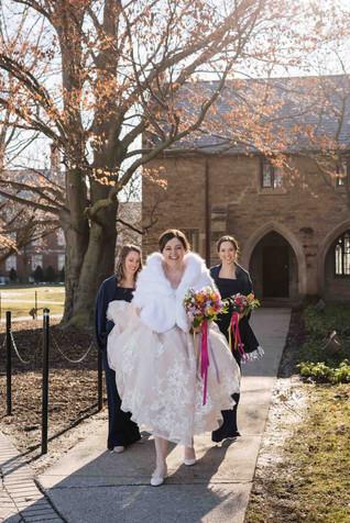 Bridesmaids  St Catharine's Wedding